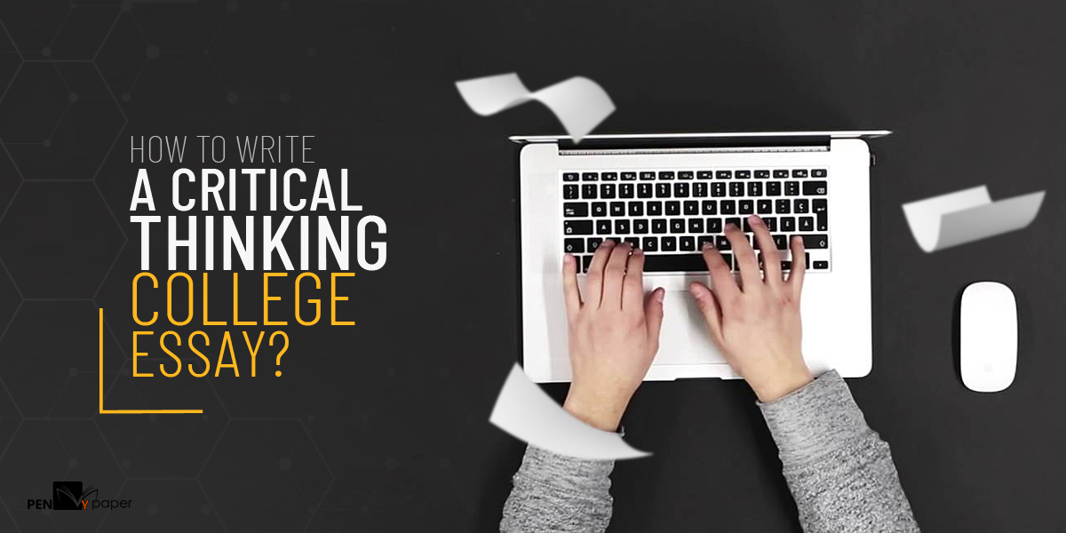 how to write a critical thinking essay