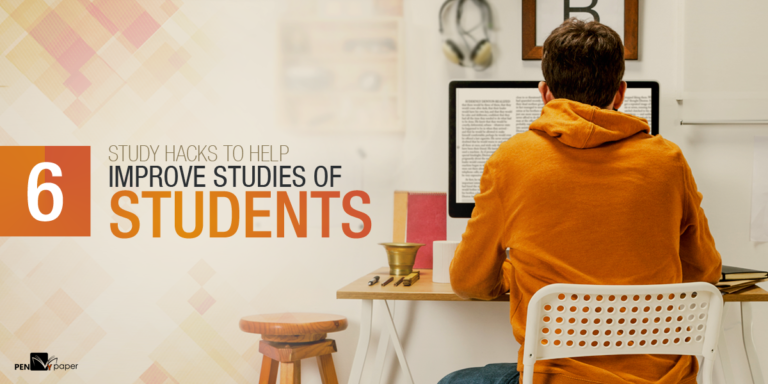 Study hacks to help improve studies of students