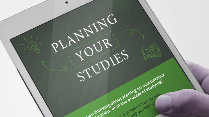 Plan your studies