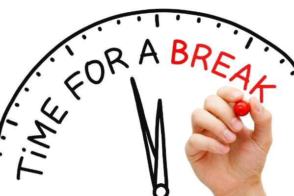 take reguler break