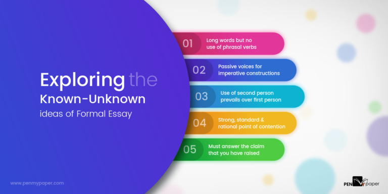 how to write Formal Essay