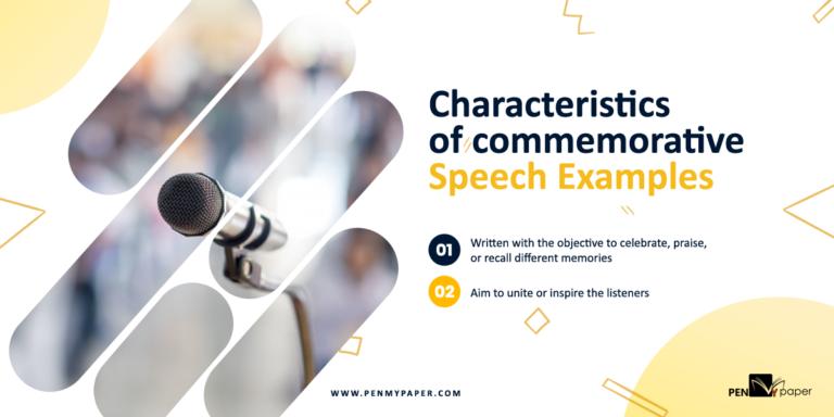 Commemorative Speech Examples